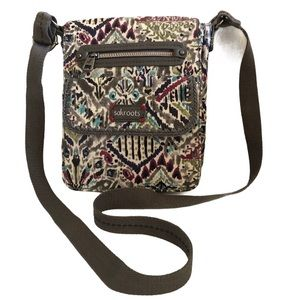 Sakroots Crossbody Bag Multiple Compartments